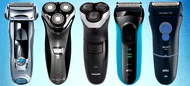 razors or electric shavers